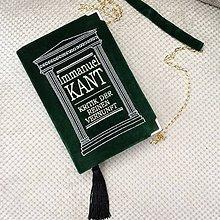 Kabelky - Kabelka v podobě knihy Immanuel Kant - 7574849_