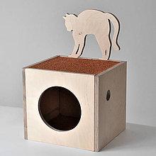 Pre zvieratká - Domček pre mačku D - 7575843_