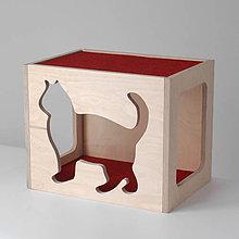 Pre zvieratká - Nástenný mačací domček - 7575871_