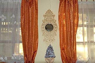 Zrkadlá - Závesné zrkadlo s ornamentom - 7576839_