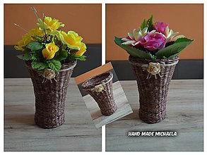 Dekorácie - váza - 7576786_