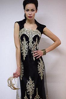 Šaty - Gold Elegance - 7577238_