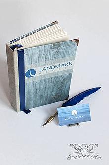 """Papiernictvo - """"Landmark"""" Logo Diary / na zákazku - 7577373_"""