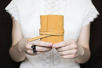 Papiernictvo - Kožený zápisník Samko - 7576153_