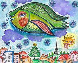 Obrazy - Vianoce v Bratislave - 7574010_
