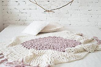 Úžitkový textil - 100% prírodná vlnená deka \