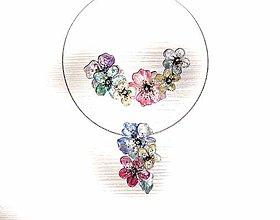 Náhrdelníky - 2v1 powder náhrdelníky - 7578904_