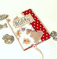 Papiernictvo - Receptár / zápisník - Vianočné dobroty (1) - 7579607_