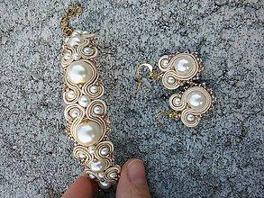 Sady šperkov - White cream - 7580352_