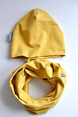 Čiapky - Set misted yellow - 7580950_