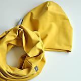 Čiapky - Set misted yellow - 7580972_