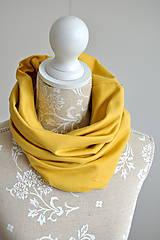 Čiapky - Set misted yellow - 7580979_