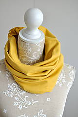 Čiapky - Set misted yellow - 7580979_