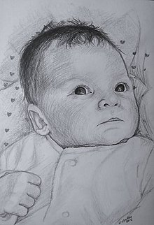 Kresby - bábätko ♥ - 7579867_