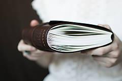 Papiernictvo - Kožený NOTOVNÍK Pavol - 7581080_