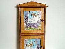 Krabičky - Veľká skrinka na kľúče - 7581406_