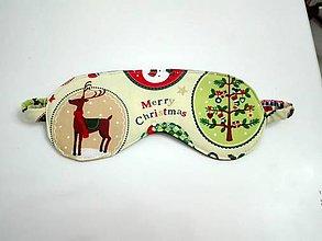 Iné doplnky - maska Christmas - 7584037_