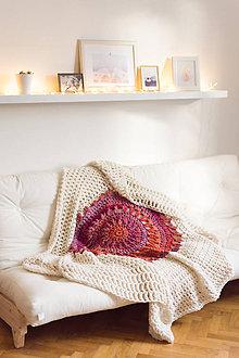 Úžitkový textil - 100% prírodná deka vlnená \