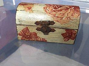 Krabičky - Drevená truhlička Patina II. - 7584030_