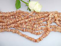 slnečný kameň korálky - oranžový mesačný kameň A kvalita