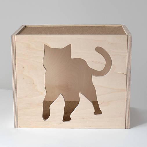 Nástenný mačací domček