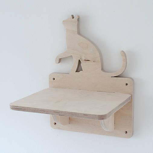 Mačacia polička/schodík na stenu
