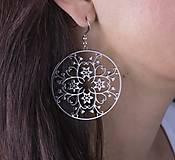 - Ornament Kvety - 5 cm nerez - 7583051_
