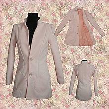 Kabáty - Ružový kabátik - 7583002_