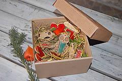 Dekorácie - Keramické ozdôbky - vianočná akcia - 7583211_