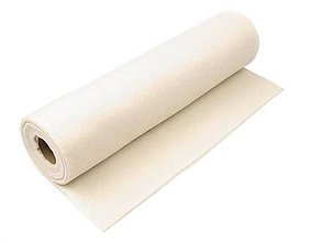 Textil - Filc-metráž, šírka 41 cm (smotanový) - 7585131_