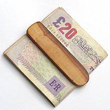 Tašky - Jabloňová spona na peniaze - 7582098_