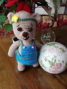 Hračky - Parádnica medvedica Ivica - 7586736_