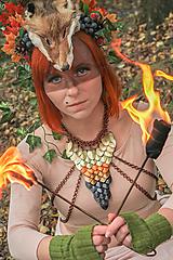 Náhrdelníky - Duch lesa - náhrdelník - 7586366_