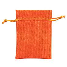 Textil - Vrecúško - oranžové - 7587880_