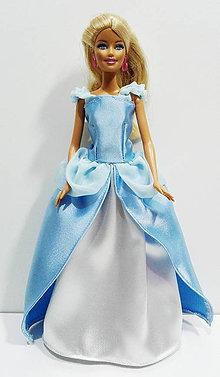 Hračky - Popoluškine šaty pre Barbie - 7587710_