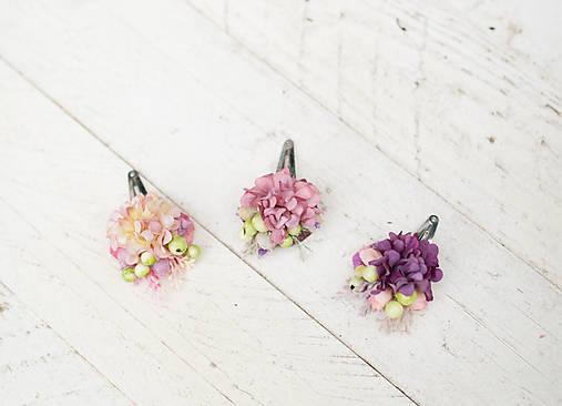 """Kvetinové pukačky """"nežné stmievanie"""" (Ružová)"""