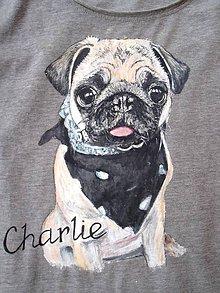 Detské oblečenie - domáci miláčik na tričku - 7587464_