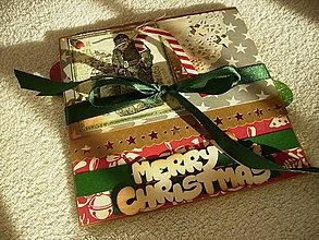 Papiernictvo - Minialbum Santa - 7588654_