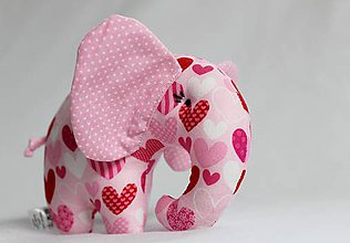 Hračky - sloník do vrecka - 7586632_