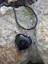 Náhrdelníky - Labradorské srdce - 7586169_