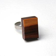 Prstene - Jabloňový farebný kvádrik - 7586478_