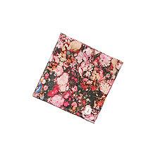Doplnky - Vreckovka do saka Roses square - 7591761_