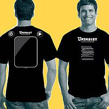 Tričká - Návrat: Interaktívne tričko pre rodičov TATABLET - 7589208_