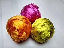 Iný materiál - Hodváb mulberry ružový - 7590026_