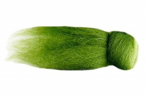 Merino - hráškovo zelená 120g