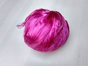 Iný materiál - Hodváb mulberry ružový - 7590033_