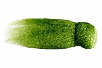 Textil - Merino - hráškovo zelená  (80g) - 7590640_