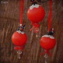 Dekorácie - Čivava - vianočná guľa na stromček - 7591104_