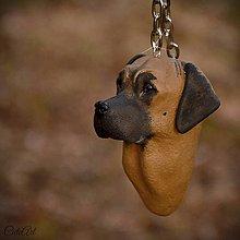 Kľúčenky - Anatolský pastierky pes - kľúčenka podľa fotografie - 7591201_