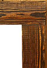 Zrkadlá - Zrkadlo zlaty palisander - 7589440_